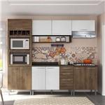 Cozinha Compacta Genialflex Isadora Demolição e Gelo 3D com Tampo