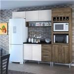 Cozinha Compacta Genialflex Yasmin Demolição e Gelo 3D com Tampo