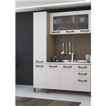 Cozinha Compacta Kappesberg Sense 3 Peças - Nature/Branco