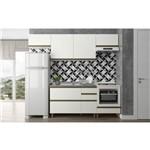 Cozinha Compacta Modena K108 Branca - Dalla Costa