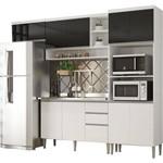 Cozinha Compacta Multimóveis 5194.894 Suiça MDP 10 Portas 2 Gavetas