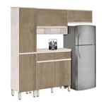 Cozinha Completa Dubai Plus Avelã com Teka - CSA Móveis