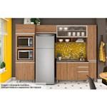 Cozinha Completa Henn Integra C/6 Peças (Torre Quente+2 Aéreos+Paneleiro+Armário) CZ05-Cor Rústico