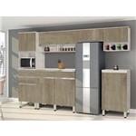Cozinha Completa San Diego Avelã com Teka CSA Móveis