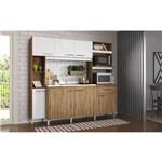 Cozinha Decibal Cv861 Canela/branco