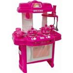 Cozinha Divertida Barbie Rosa - Fun