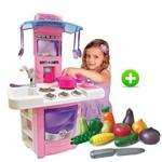 Cozinha Infantil Nova Big Cozinha Crec Crec Feirinha Orgânica Legumes Big Star