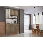Cozinha Kit 1860 6 Portas 1 Gaveta Genialflex