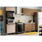 Cozinha Modulada 4 Peças Cp02 Space Rústico/creme - Henn