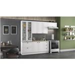 Cozinha Modulada Americana com Cristaleira 08 Portas 05 Gavetas Henn - Branco Hp