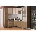Cozinha Modulada CP5 Integra - Rústico/Creme