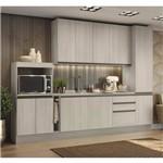 Cozinha Modulada Kappesberg Maxxi 10 Portas 3 Gavetas - Amêndoa
