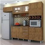 Cozinha Modulada Pérola com Tampo 4 Peças 8PT 3GV - Valdemóveis