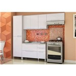 Cozinha Modulada Solaris 04 Módulos Kit 3 Carvalle/branco - Kappesberg