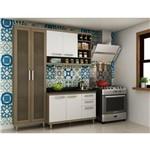 Cozinha New Vitoria Avela e Branco