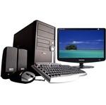 "CPU Core 2 Duo E4500 2GB 320GB DVD-RW Linux Ezpac + Monitor LCD 19"" Wide 932BW - Samsung"