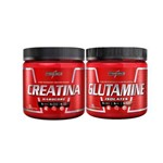Creatina - 300g + Glutamine - 300g