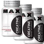 Creatina 120 Capsulas Max Titanium 3 Undades Melhor Preço