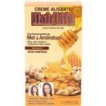 Creme Alisante Hairlife Mel e Amêndoas