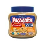 Creme de Amendoim Paçoquita Cremosa Diet Zero Açúcar 180g - Santa Helena