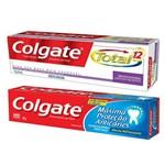 Creme Dental Colgate Anticaries + Total 12