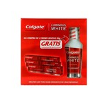Creme Dental Colgate Luminous e Enxágue Luminous