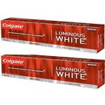 Creme Dental Colgate Luminous White 90g C/2 Unidades