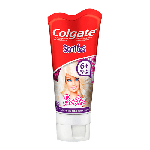 Creme Dental Colgate Smiles Barbie 100g