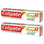 Creme Dental Colgate Total Clean Mint 2 Unidades