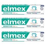 Creme Dental Elmex Sensitive 110g - Kit 03 Unidades