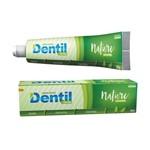 Creme Dental Nature Sem Fluor com Xilitol e Stevia Vegano 90g