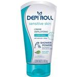 Creme Depilatório Corporal de Banho Sensitive Skin 130g Depiroll
