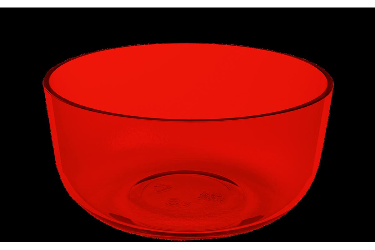 Cremeira Cozy 300ml Vermelho Transparente Coza