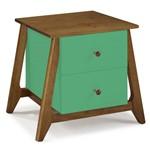 Criado Mudo Verde Tiffany Stoka
