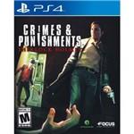 Crimes & Punishments: Sherlock Holmes - Ps4