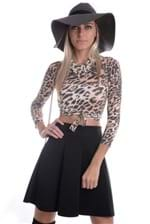 Cropped Animal Print BL2163 - P