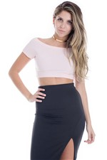 Cropped Canelado Baby BL3382 - Kam Bess