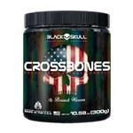 Crossbones Pré Treino 300g Black Skull - Black Skull