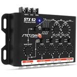 Crossover Stetsom STX52 Frequency Locked 4 Vias Mono ou Stereo Mesa Som Automotivo