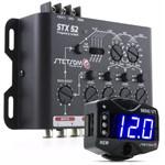 Crossover Stetsom Stx52 Mesa Som 4 Vias + Voltímetro Mini Vt Digital