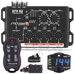 Crossover Stetsom Stx52 Mesa Som + Controle Sx2 + Voltímetro Mini Vt
