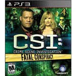 Csi: Crime Scene Investigation Fatal Conspiracy - Ps3