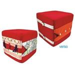 Cubo de Atividades Velcro com 4 Atividades