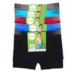 Cueca Boxer Sem Costura Infantil Selene