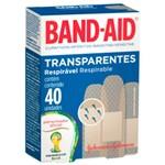 Curativo Band-aid Transp 40un-cx