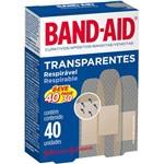 Curativo Band-aid Transp 40un/pg30u
