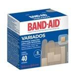 Curativo Band-Aid Variados 40 Unidades