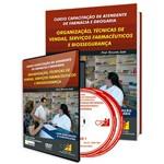 Curso Capacitação de Atendente de Farmácia e Drogaria: Organização, Técnicas de Vendas
