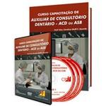 Curso Capacitação de Auxiliar de Consultório Dentário - ACD ou ASB em Livro e DVD