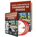 Curso Capacitação de Cuidador de Idosos em Livro e DVD